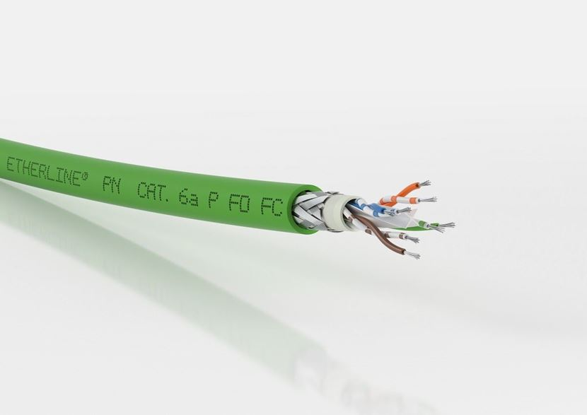 High-speed ETHERLINE® cables make assembly of industrial networks even easier