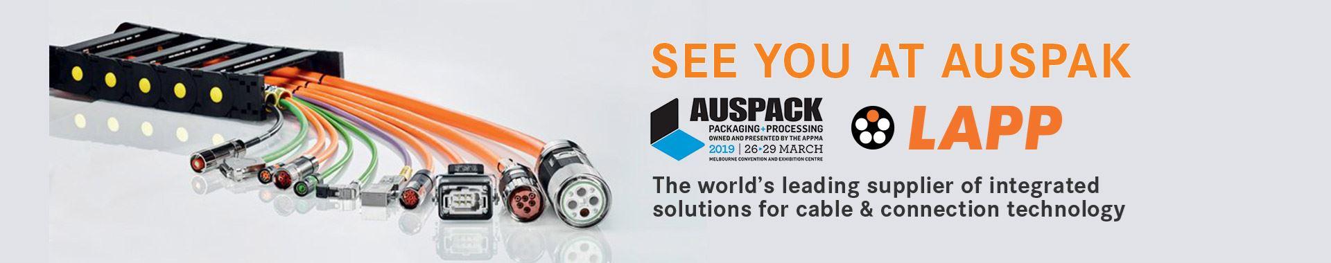 LAPP Australia at Auspack