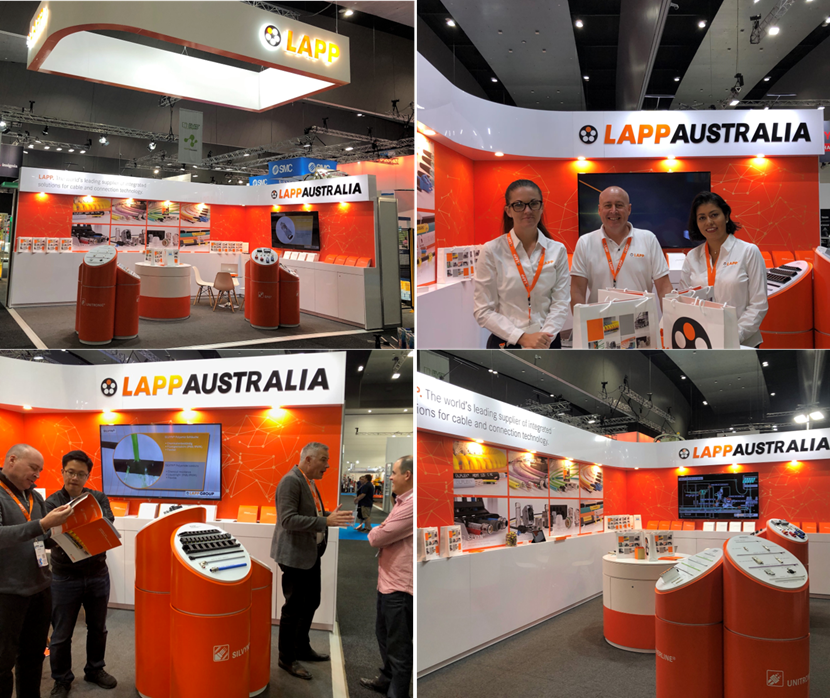 LAPP Impresses Visitors at AUSPACK