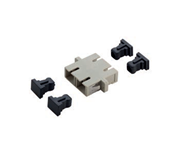 Picture of GOF Adapter Duplex LC SM APC GR /4PC