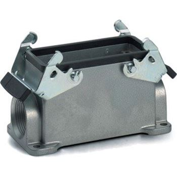 Picture for category HB 10 Panel Mount Base - Double Lever