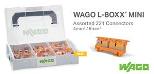 New WAGO 221 Set L-Boxx Mini