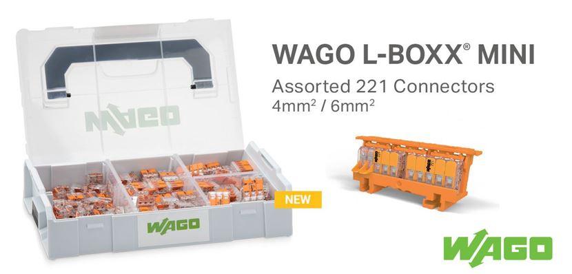 New WAGO 221 Set L-Boxx Mini