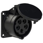 Picture of CEE Flanged Socket 16A 5P IP44/54