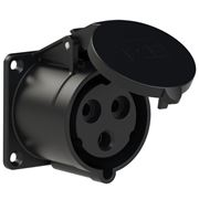 Picture of CEE Flanged Socket 32A 3p IP44