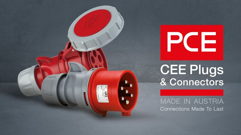 PC Electric CEE Form Cable Connectors Now Available