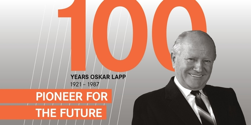 100 Years Oskar Lapp: Pioneer for the future