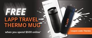FREE LAPP Travel Thermo Mug