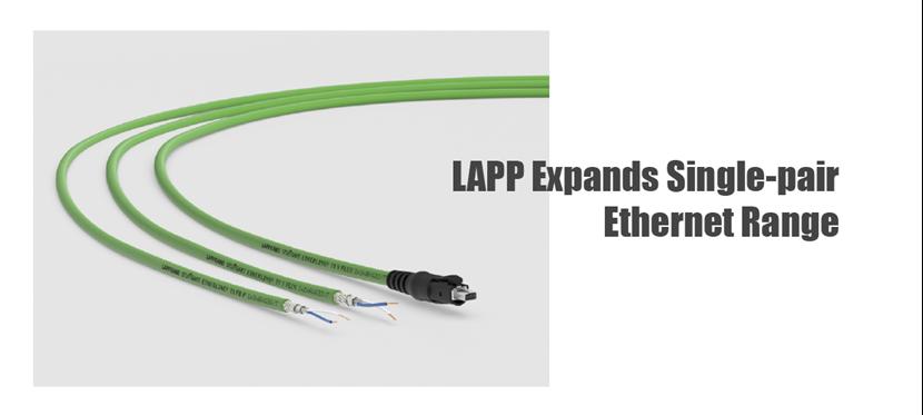 LAPP Expands Single-pair Ethernet Range